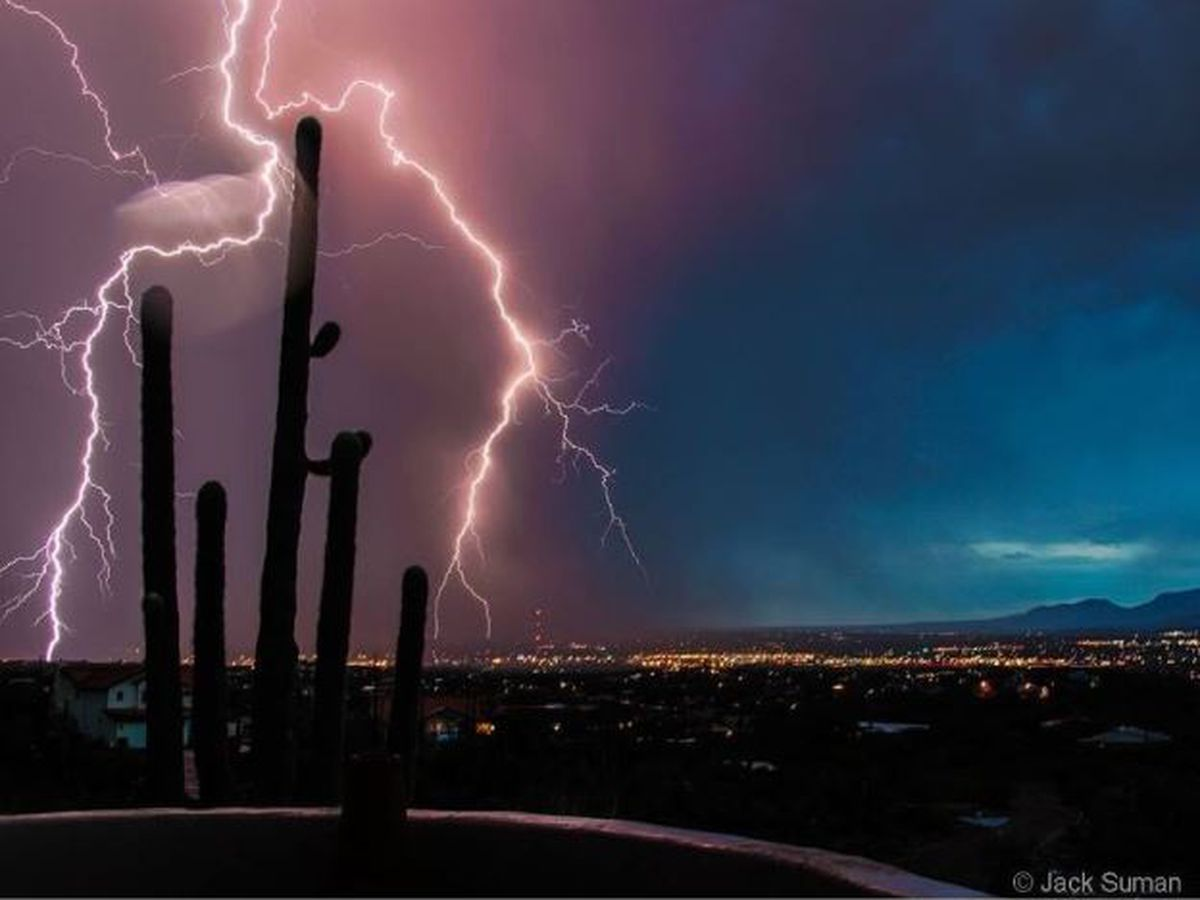 PHOTOS AND VIDEO: Monsoon 2020 arrives in southern Arizona