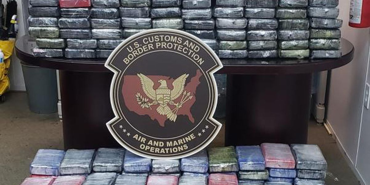 CBP Air and Marine Operations seize 888 pounds of cocaine in two separate incidents near Cabo Rojo