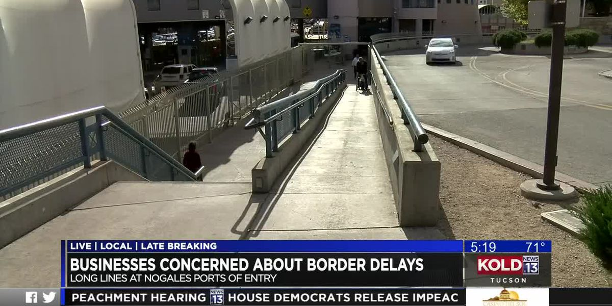 Congestion at Nogales ports of entry worries business owners