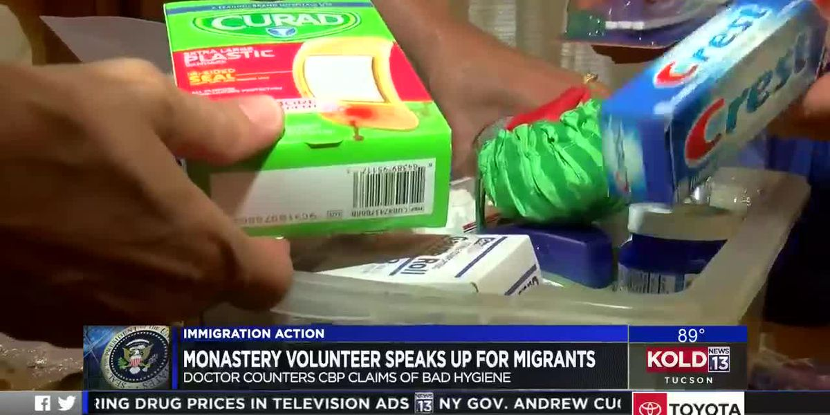Monastery volunteer speaks up for migrants