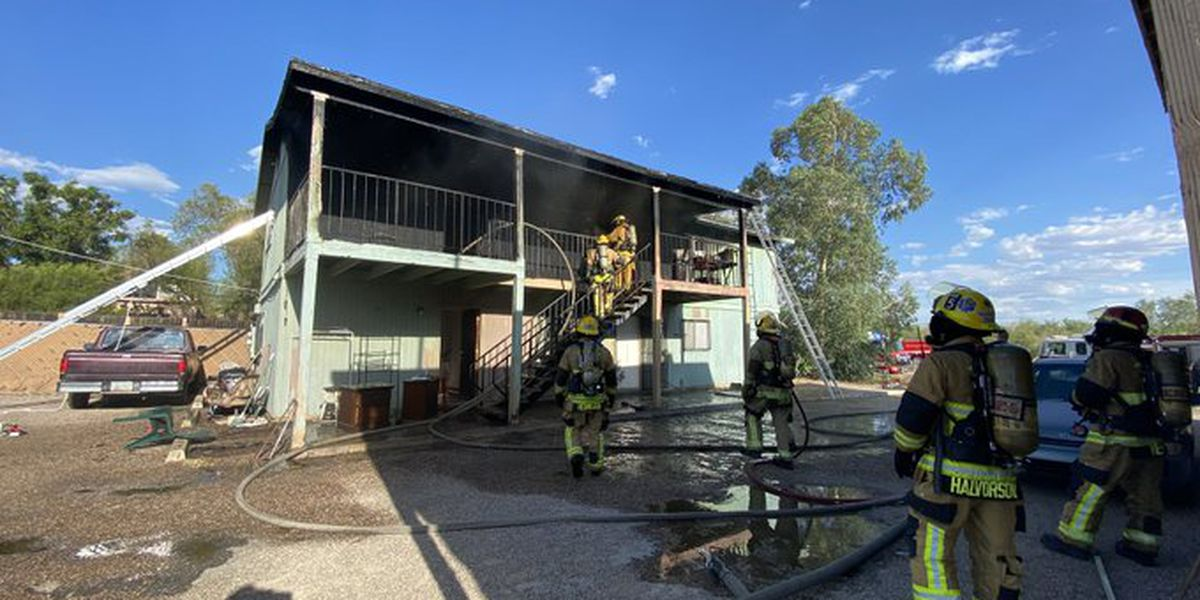 TFD responds to apartment fire in midtown