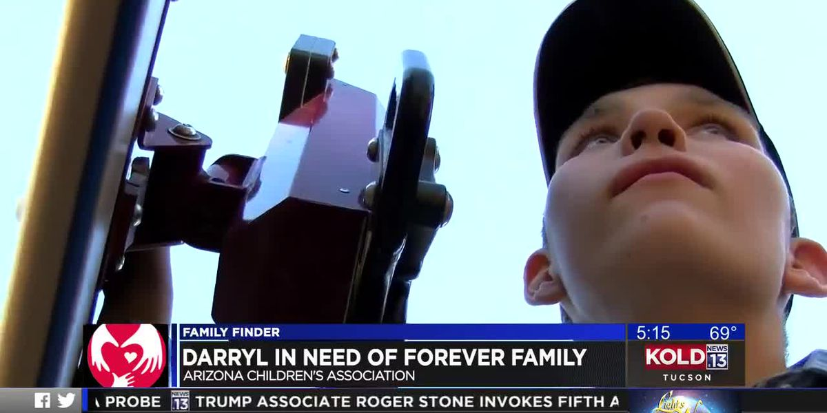 FAMILY FINDER: Darryl looking for a forever family