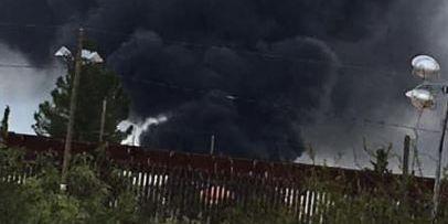 Fire near Mexico border poses no threat to Douglas