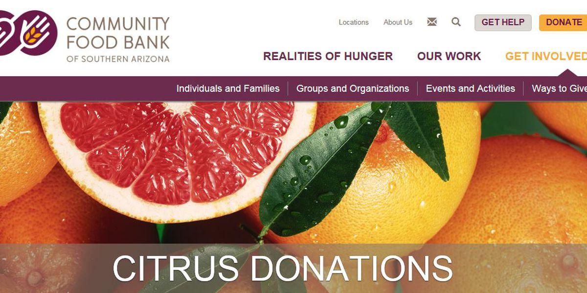 Donate extra citrus during Super Citrus Saturdays