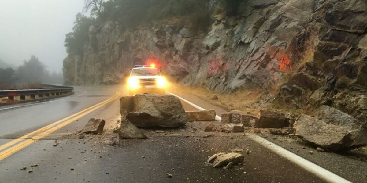 Sheriff warns drivers of rockslides on Catalina Highway
