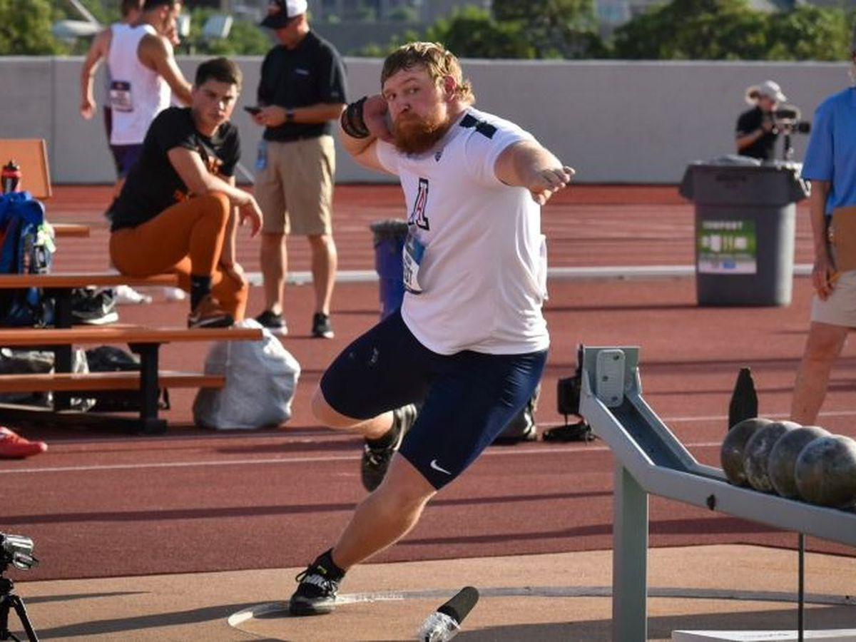 Geist stands on podium at NCAA Track and Field Championships