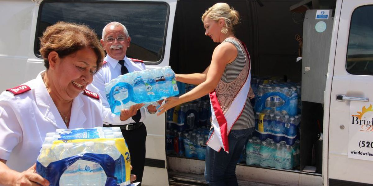Big donation for Salvation Army's Operation Chill Out