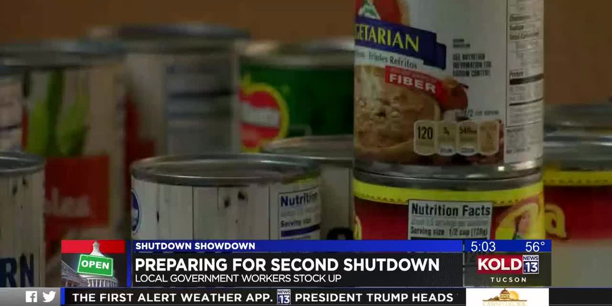 Federal workers prepare for shutdown just in case