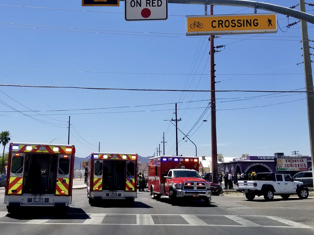 TFD, TPD respond to fatal traffic collision in midtown Tucson