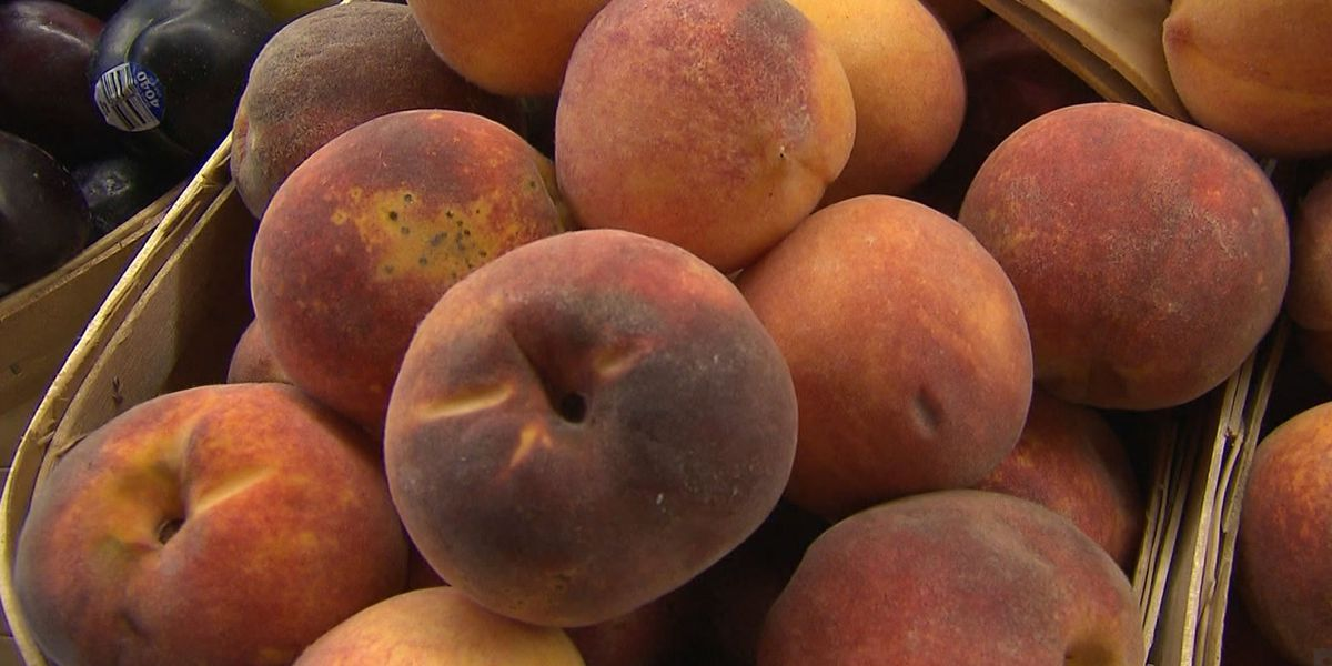 Peaches linked to salmonella outbreak in 9 states