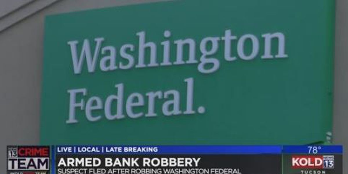 Tucson police searching for suspect in bank robbery