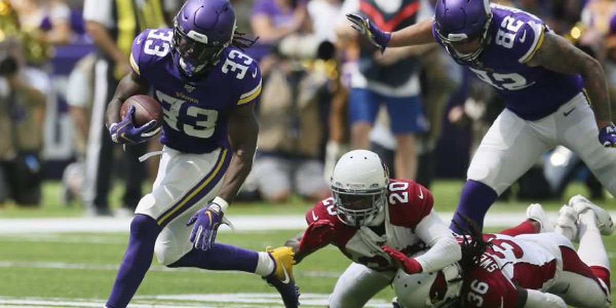 Cook's 85-yard TD highlights Vikings' win vs. Cards