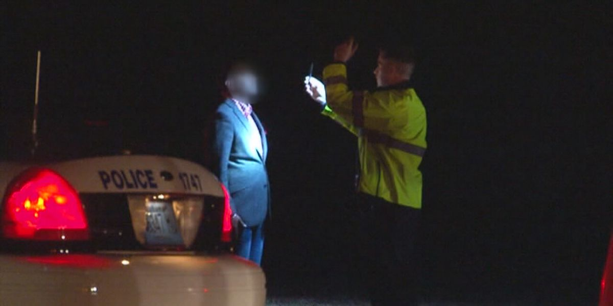 Law enforcement looking for drunk drivers on New Year's Eve