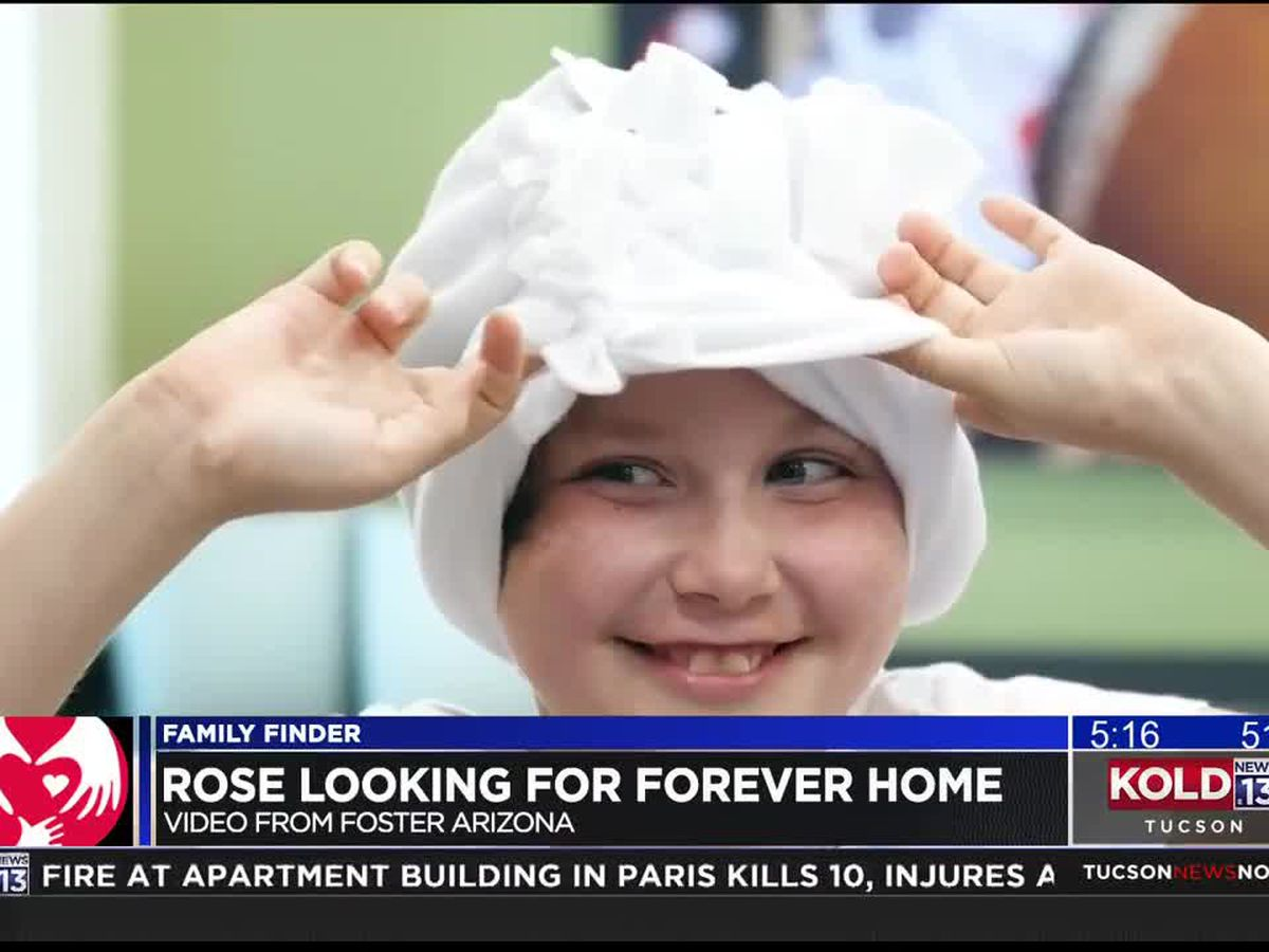 Family Finder: Rose looking for a forever family