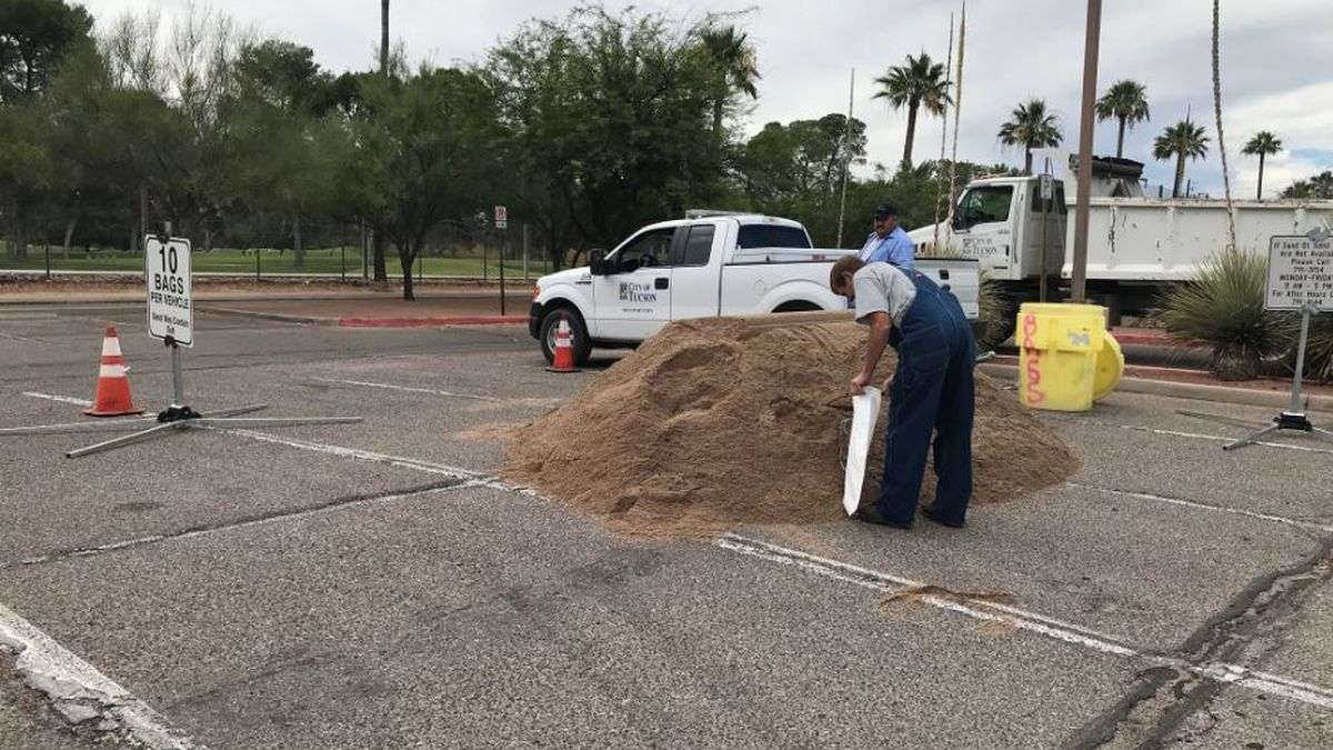 LIST: Sandbag locations across southern AZ