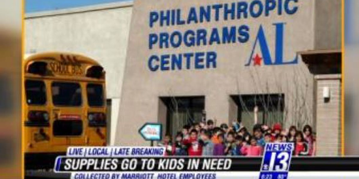 Back to school supplies for families in need