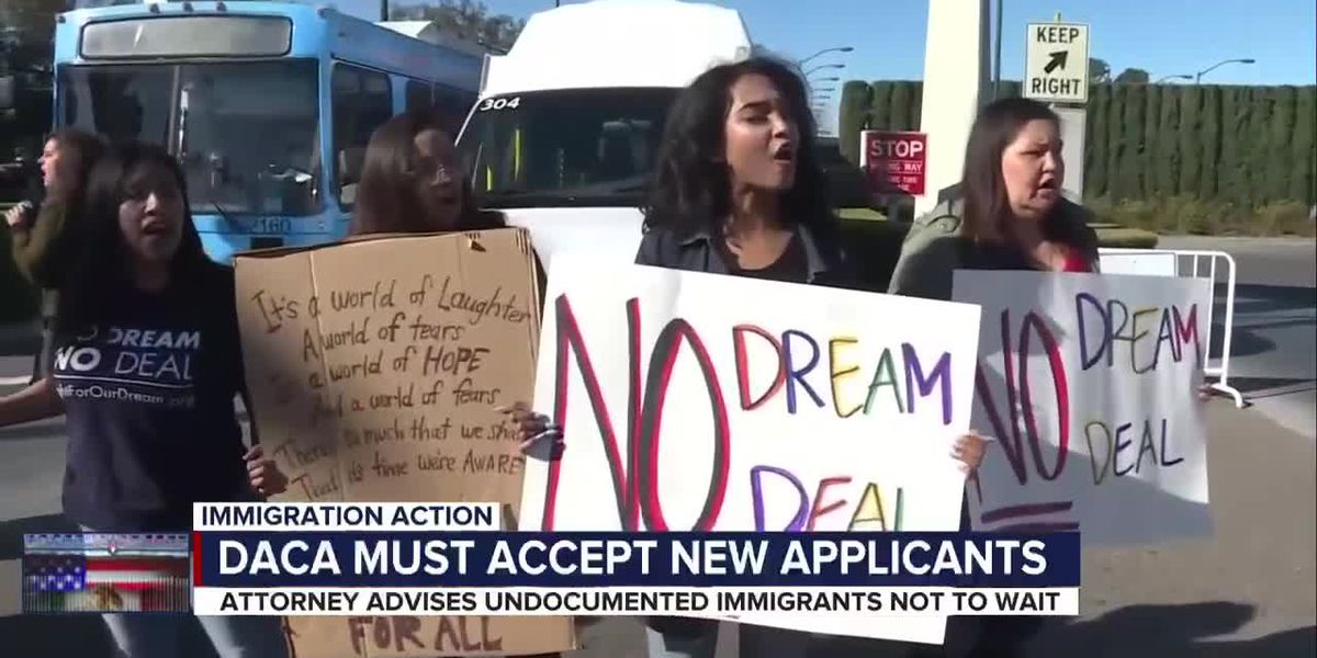DACA program reopens for new applicants following a judge's ruling