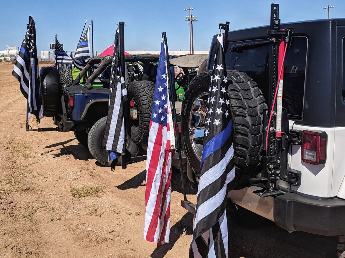Fourth annual Jeepers Back the Blue event to take place this weekend