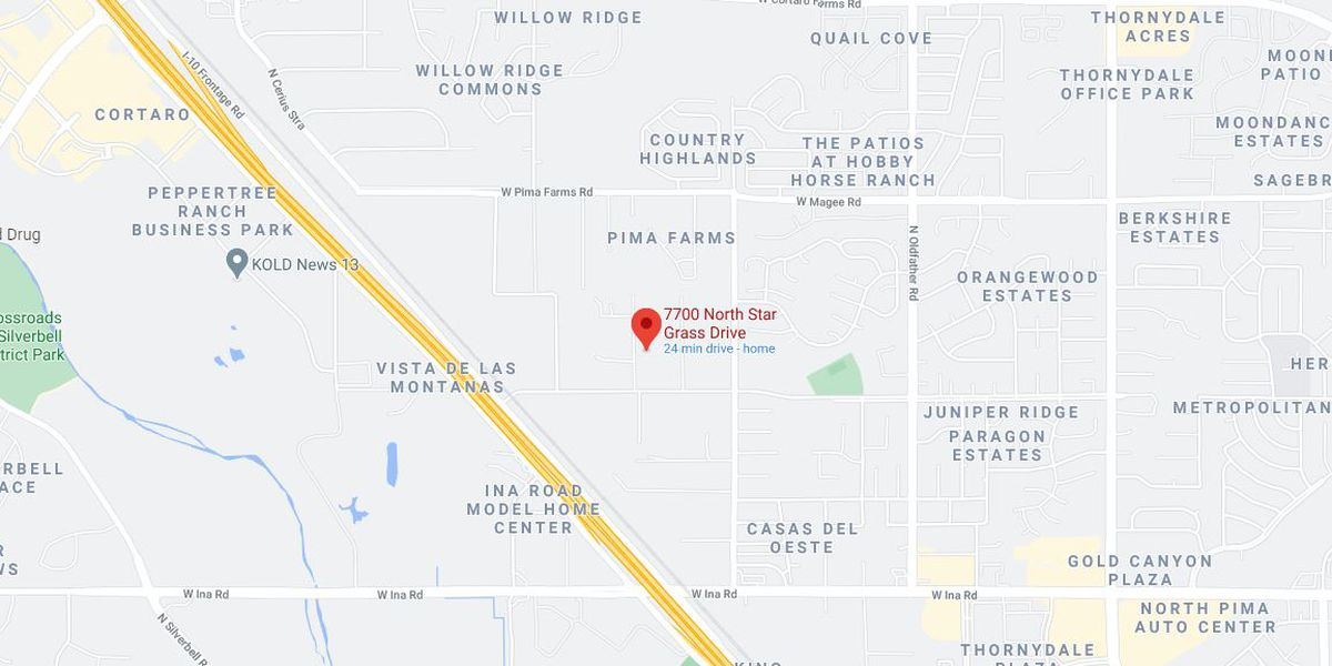 Northwest Fire puts out early morning fire, near Ina Road and I-10
