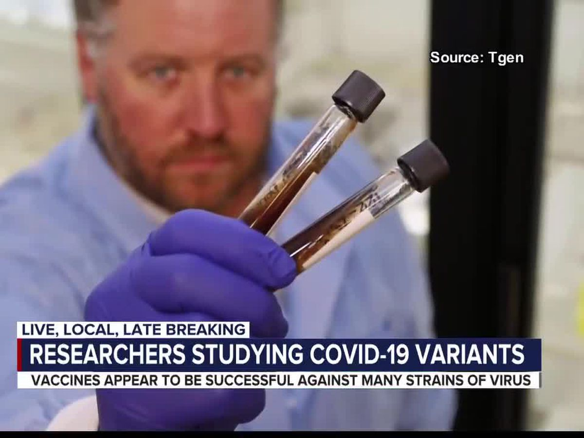 Researchers ramp up COVID-19 variant tracking efforts in Arizona