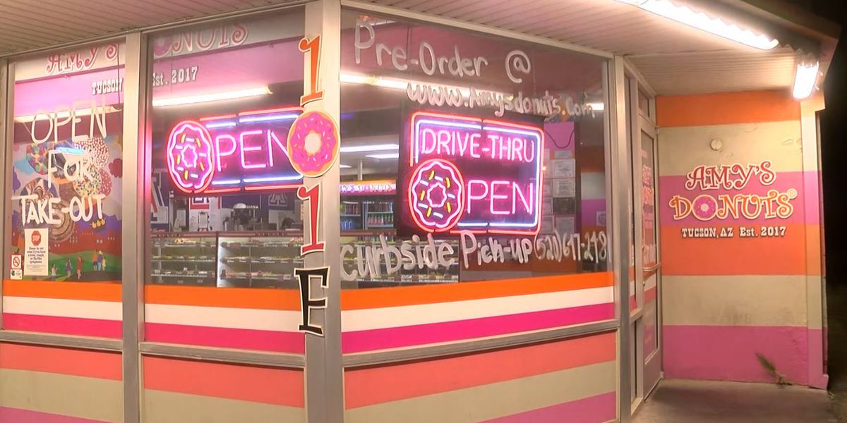 UPDATE: Amy's Donuts in Tucson hit by vandals Christmas Day