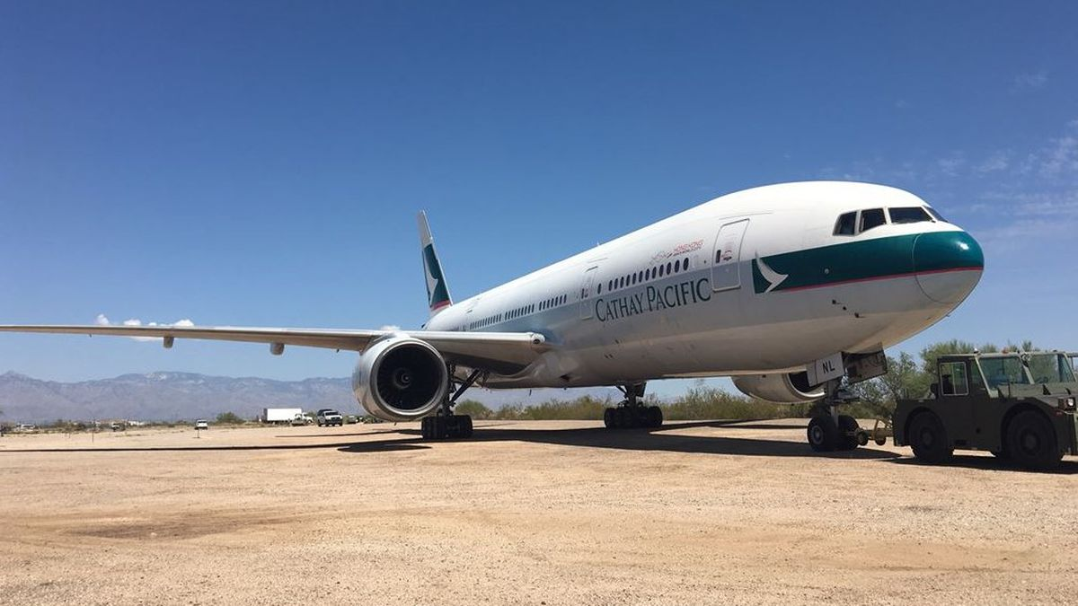 Boeing 777 finds new home in Tucson