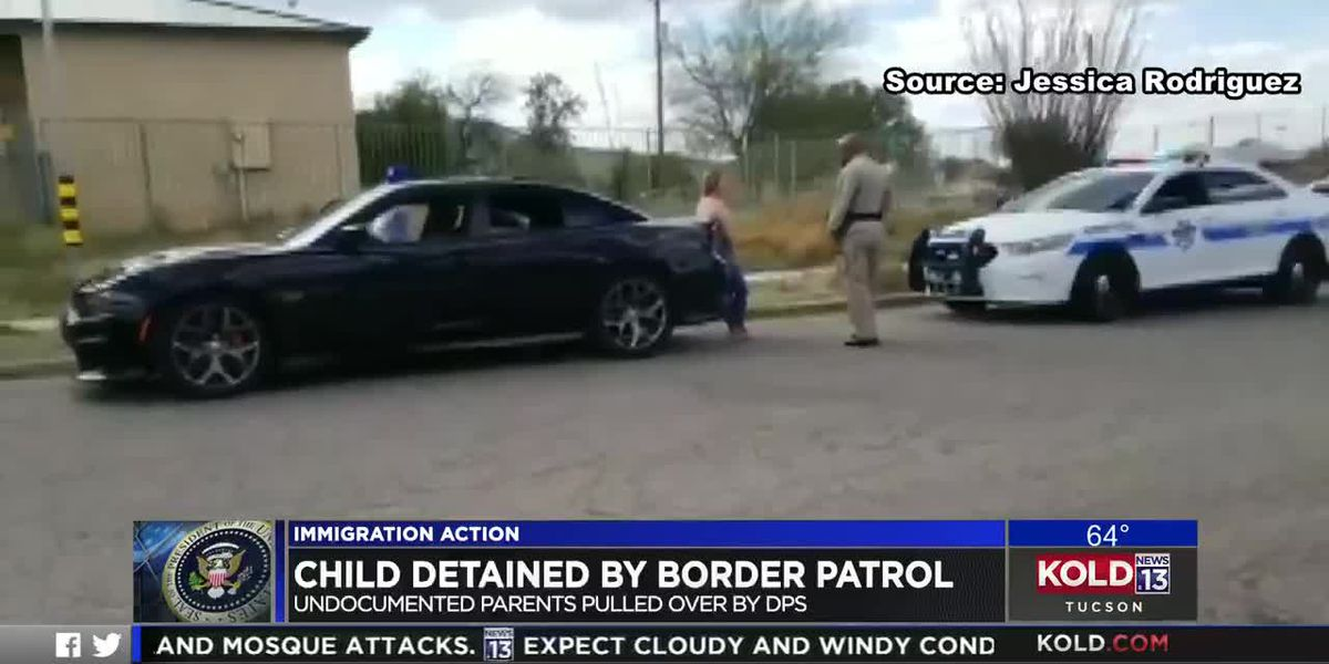 Child detained by Border Patrol