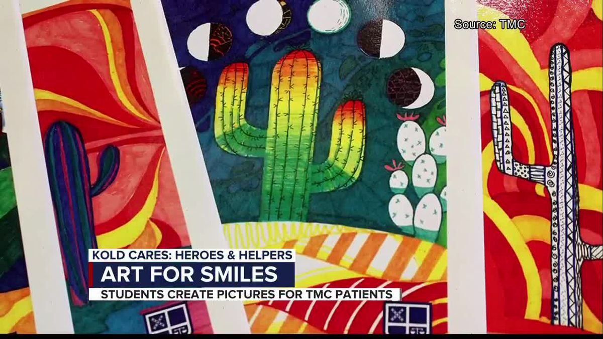 KOLD Heroes and Helpers: Art for smiles