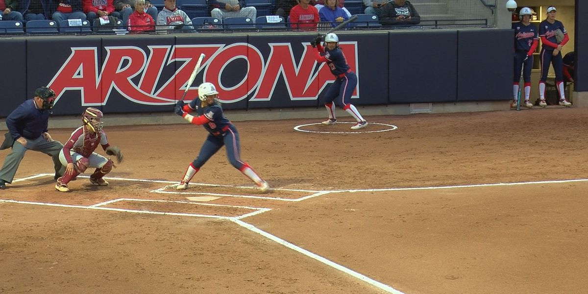 #12 Arizona Softball finally gets a Top 10 win