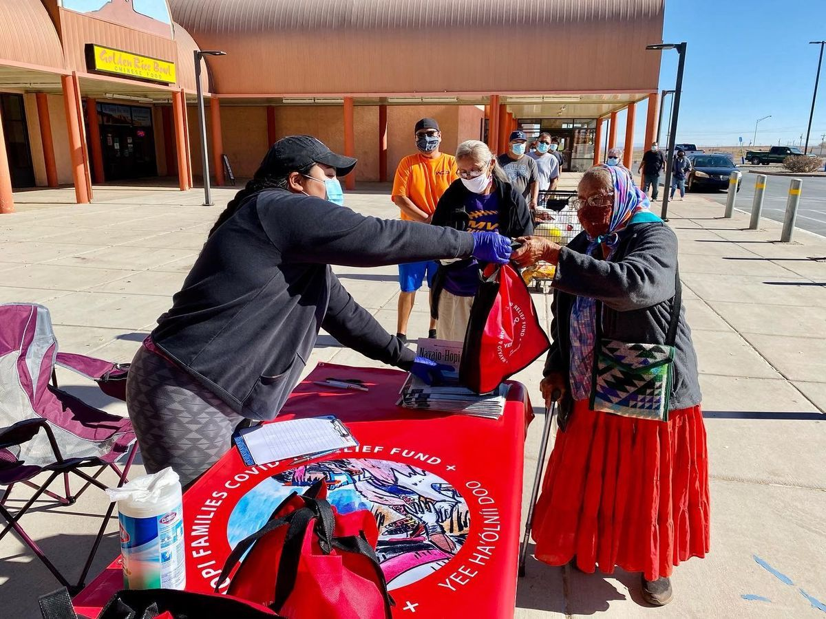 Navajo & Hopi Families COVID-19 Relief Fund to provide PPE kits to those in need