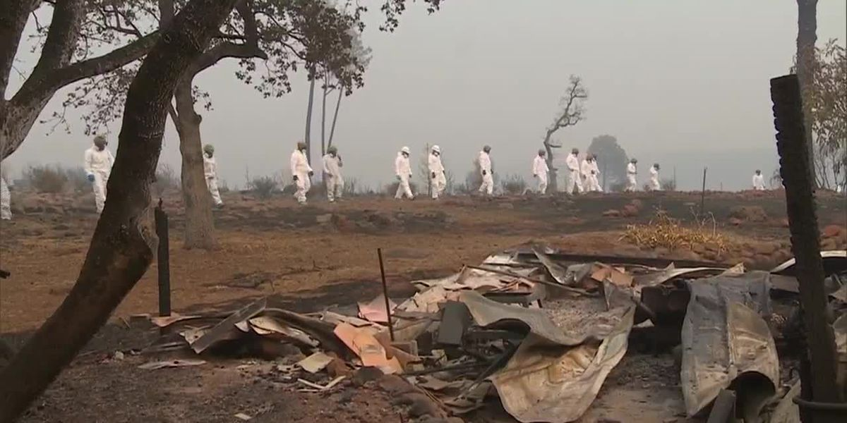 More than 100 remain missing in California wildfires