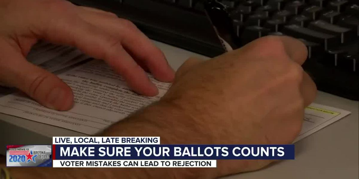 Common mistakes by voters that get ballots rejected