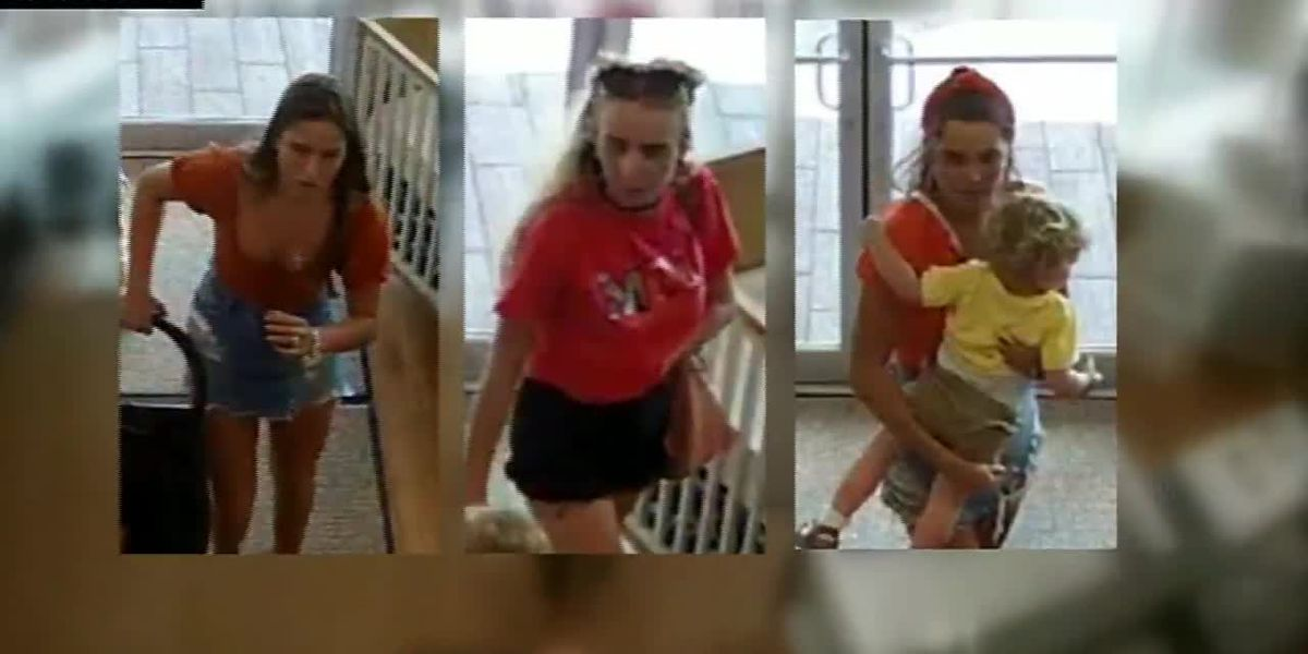 WATCH: Woman steals stroller from N.J. store, leaves child behind