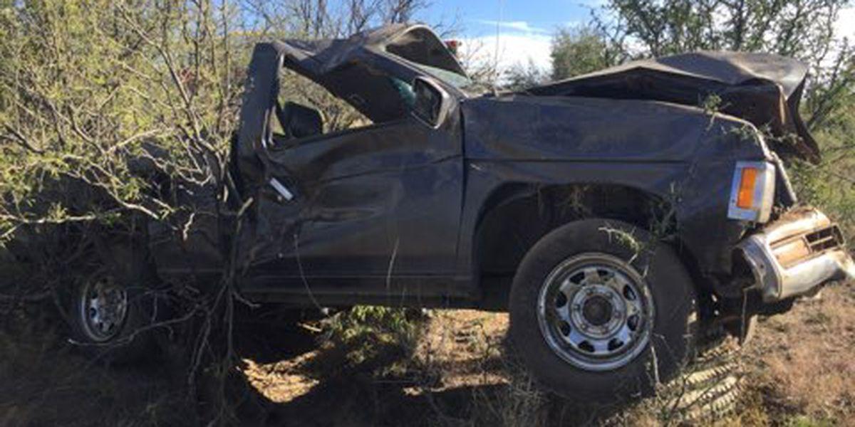 Three injured in Green Valley rollover crash