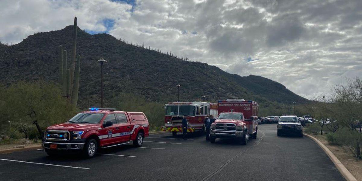Multiple agencies assist injured hiker in Marana