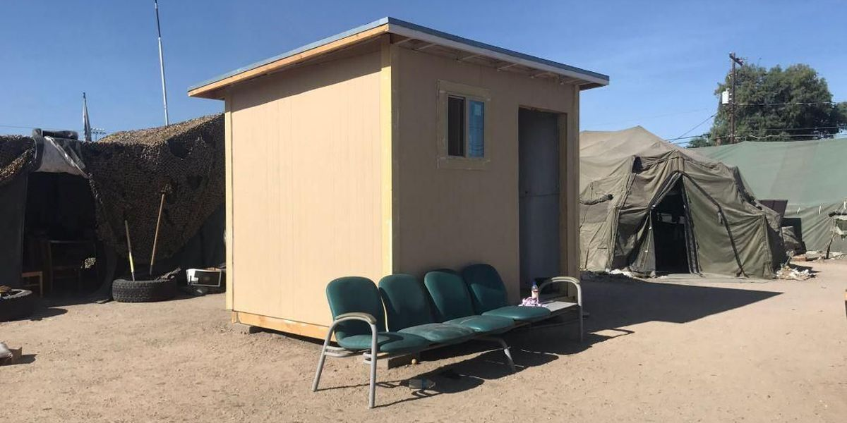 Volunteers hope village of tiny homes provides second chance for homeless vets