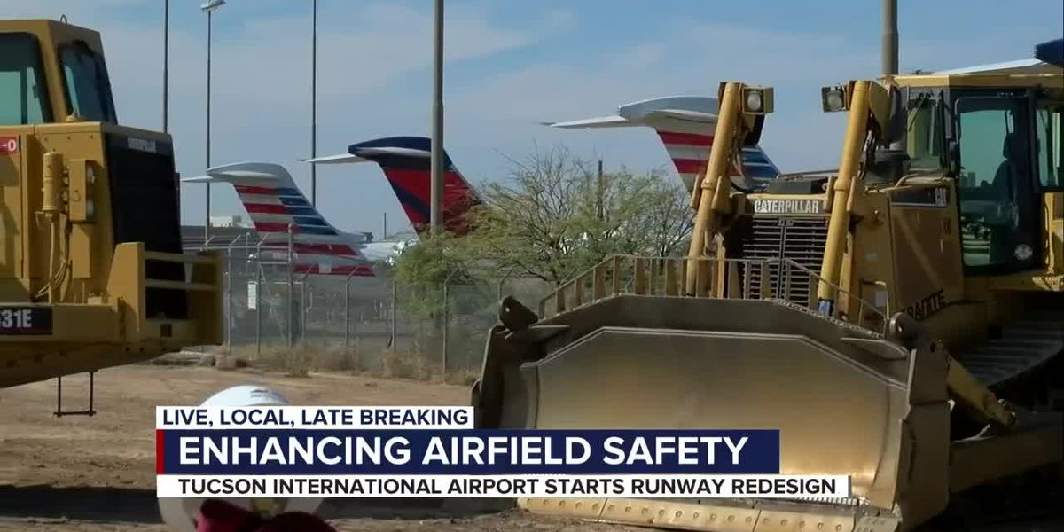 $300 million safety project underway at Tucson International Airport