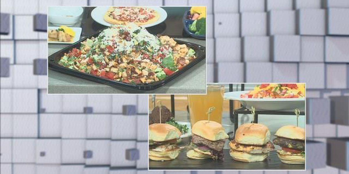 What's For Lunch: Shrimp Pita Tostada - Pita Jungle