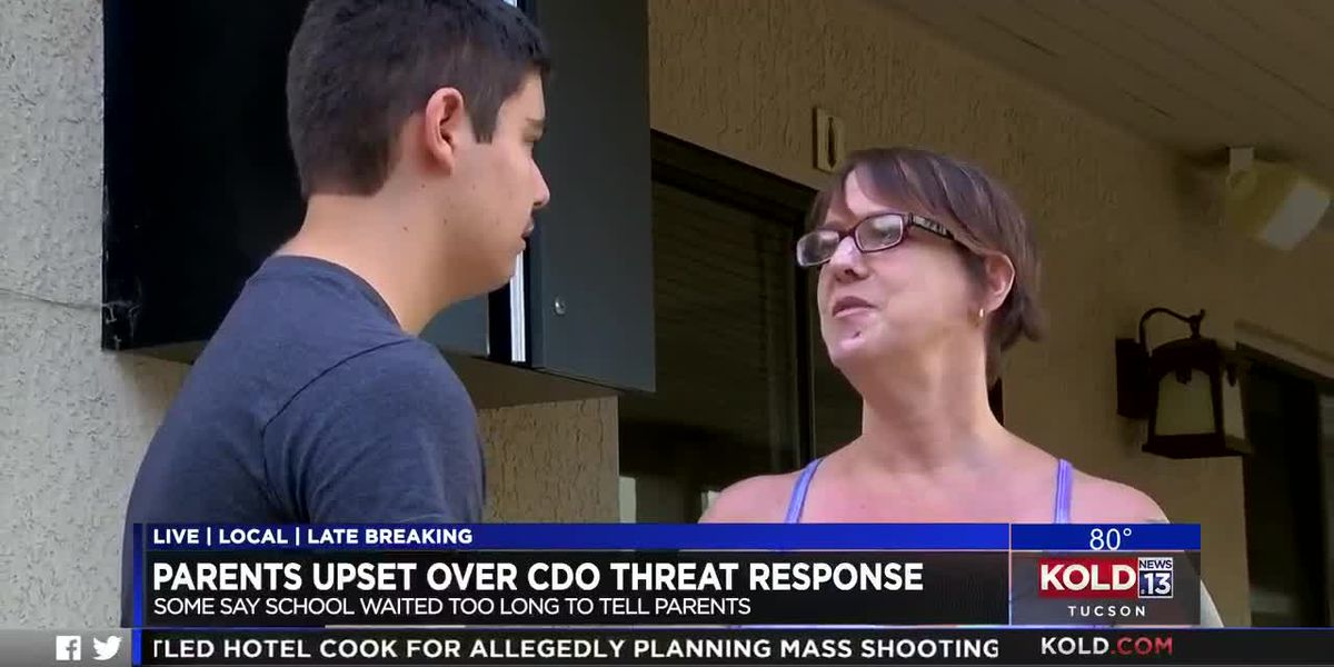 Parents at CDO say they should have known about school threat sooner