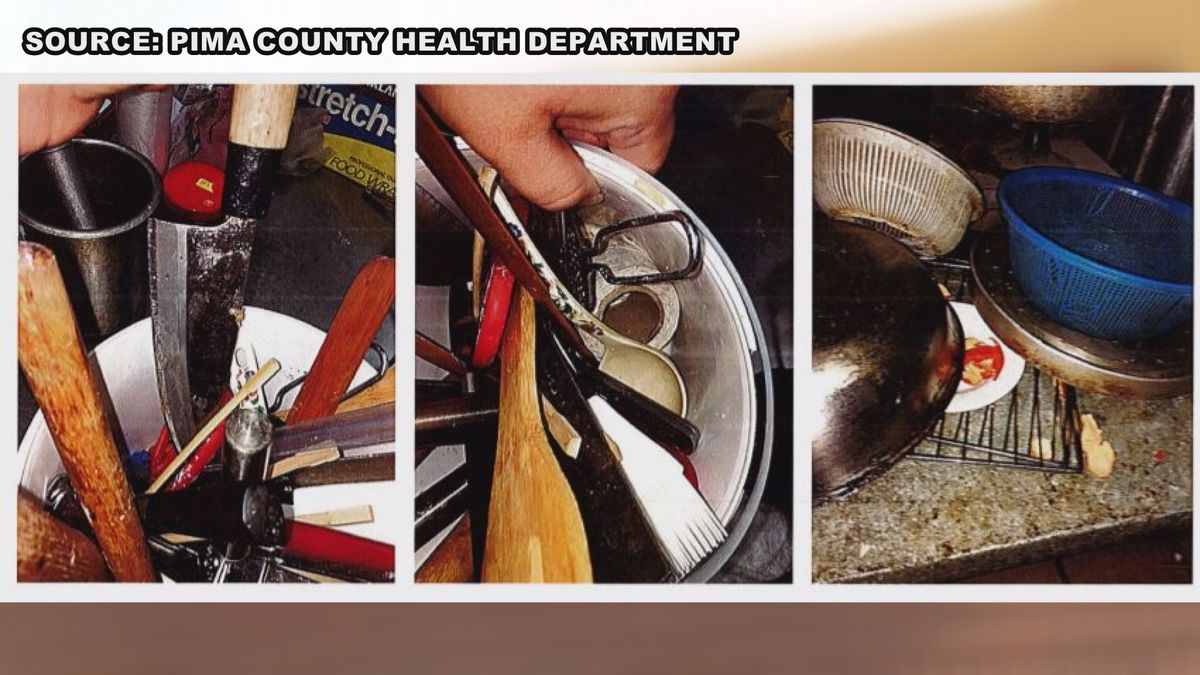 Restaurant Report Card: Dirty kitchen catches health inspectors' attention