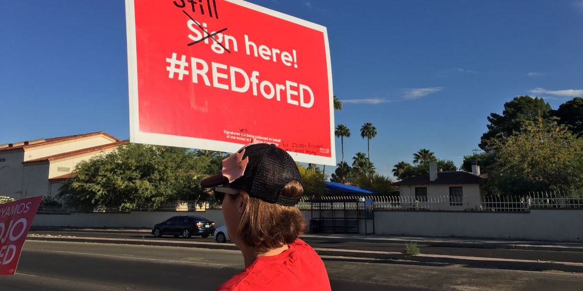 Red For Ed demonstrations planned at Tucson schools