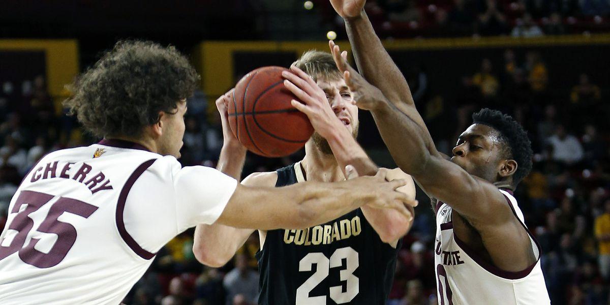 White scores 19, Arizona State rolls over Colorado 83-61