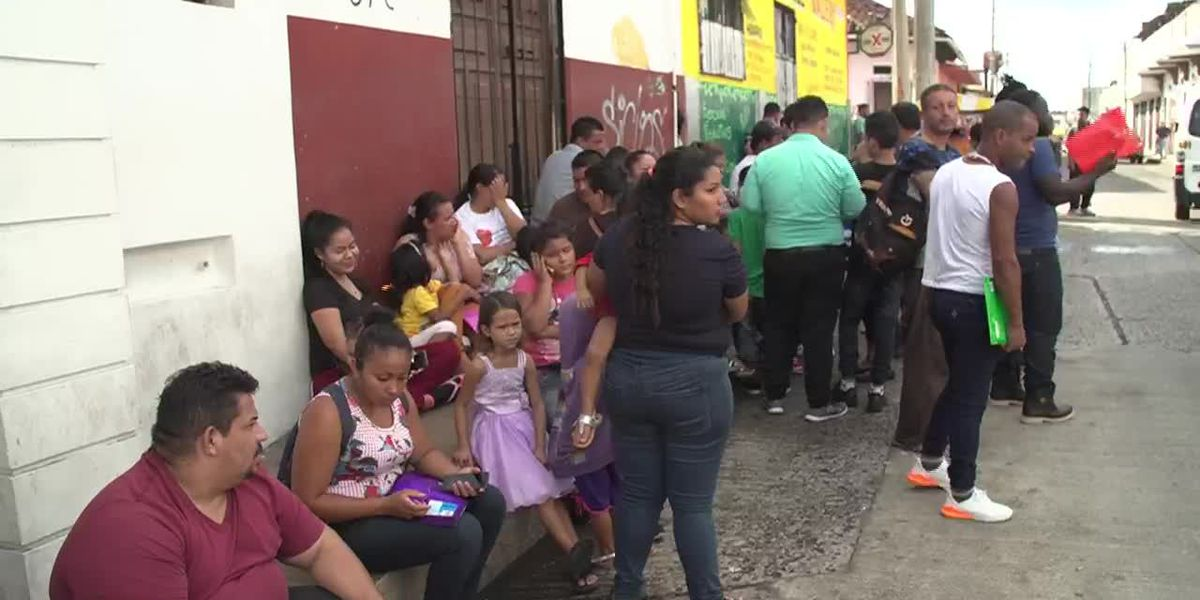 Mexican president announces new immigration plan as numbers overwhelm