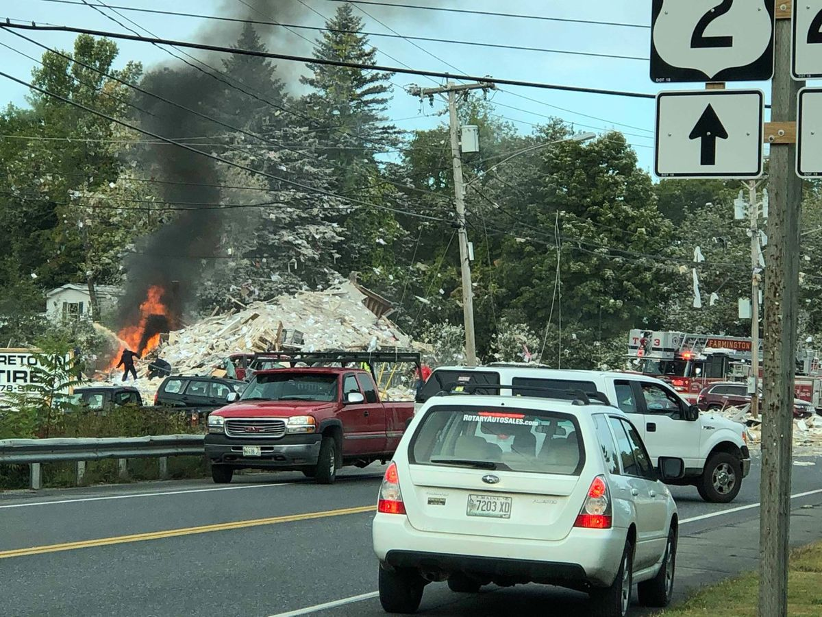Propane explosion in Maine kills one firefighter, injures six other people