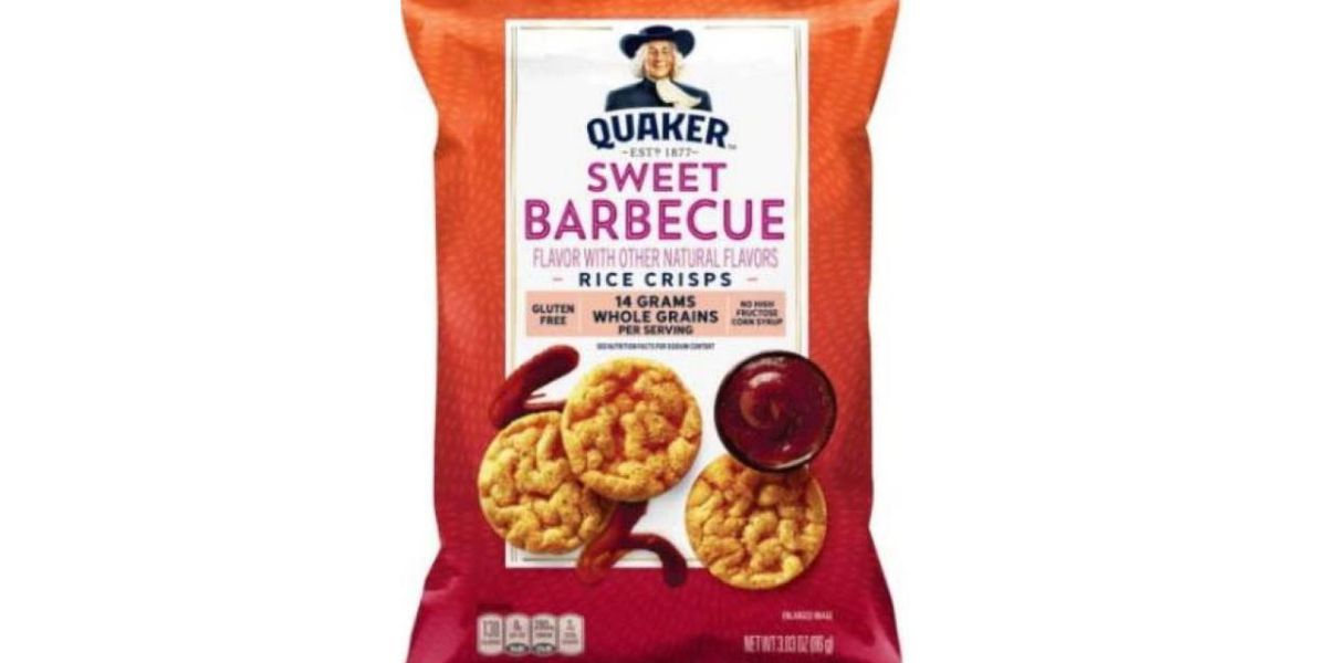 Quaker recalling BBQ flavored rice snacks due to undeclared allergen