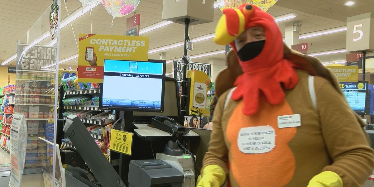 """Turkey Buck Joe"" brings smiles, raises money for charity"