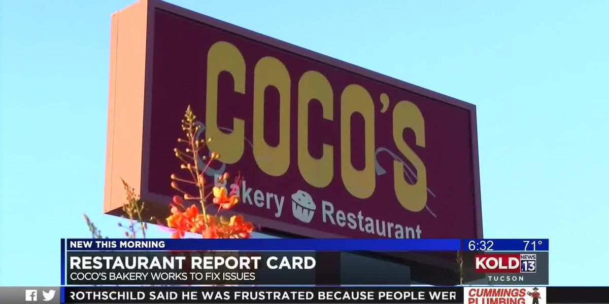 KOLD Restaurant Report Card: Coco's Bakery works to fix issues