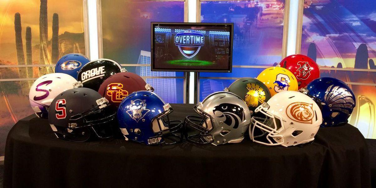 'Overtime' high school football scores - playoffs