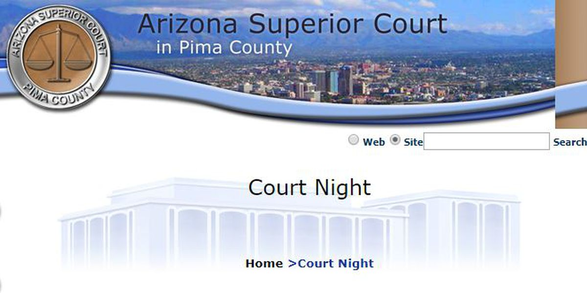 Pima County Superior Court holding Court Night event