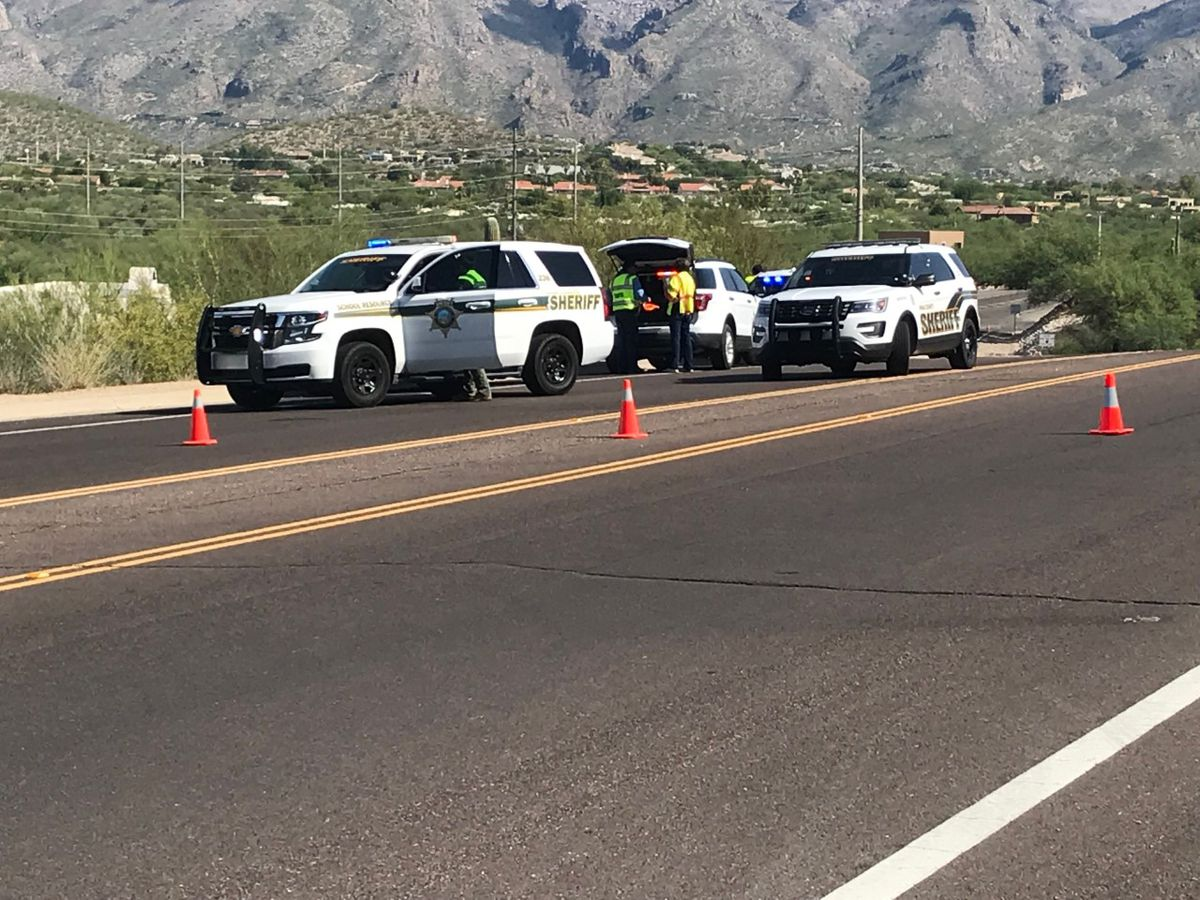 UPDATE: Pima County Sheriff's Department continues to search for suspect of hit-and-run on Sabino Canyon Road